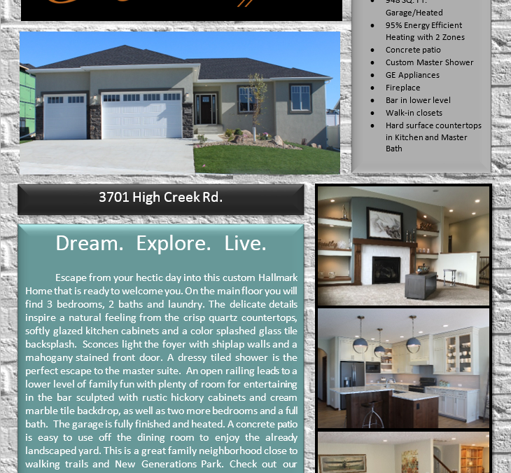 New Construction For Sale and Ready for you to MOVE IN!!